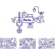 Brand New: New Logo and Identity for Porto by White Studio