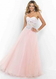 Cheap Petal Pink Heart-shaped Neck Beaded Lace Tulle Ball Gown [Blush 5428 Petal Pink] - $192.00 : Buy Cheap Prom Dresses Online,Homecoming Dresses For 2015