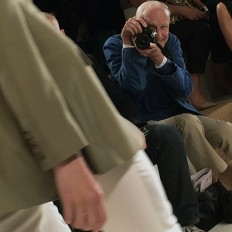 On the Scene……Bill Cunningham Front Row at Ralph Lauren, New York « The Sartorialist