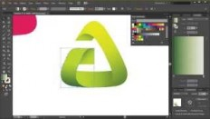 Adobe Illustrator Tutorial - Clean & Modern Logo - YouTube