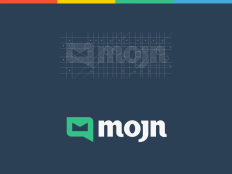 Mojn Logo Design / Branding on Inspirationde