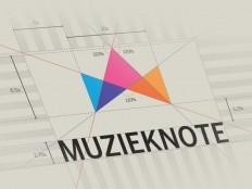 Muzieknote Logo by Jurgen Ploeger | Logo on Inspirationde