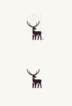 Geometric Animal Logos on Inspirationde