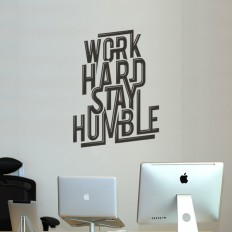 Work Hard Stay Humble on Inspirationde