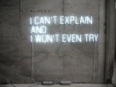 I can't explain And I Won't Even try on Inspirationde