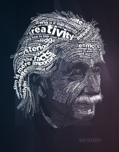 Albert Einstein on Inspirationde