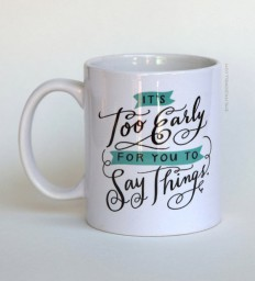 Hilariously Awkward Typographic Mugs That Are Perfect For The Office - DesignTAXI.com