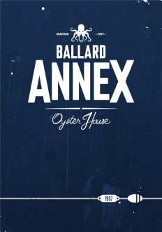 Turnstyle | Design, Graphic Design, Web Design, Information Design | Ballard Annex Restaurant Branding