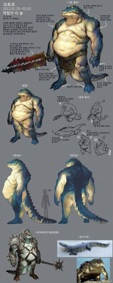 Alligator Enemy - Polycount Forum