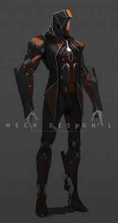 ArtStation - Mech design 1, Tyler Ryan