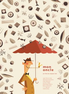 Poster / Silver Screen Society – Mon Oncle