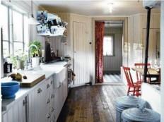 33 Rustic Scandinavian Kitchen Designs | DigsDigs