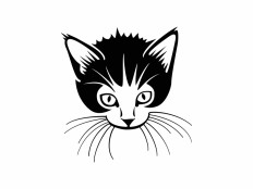 Cat Vector File - VECTOR ELEMENTS - Animals : LogoWik.com