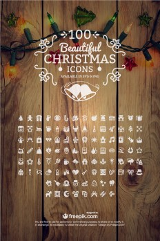 100 Free Christmas Icons (PNG + SVG) - Creative Beacon