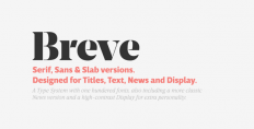 Breve on Typography Served