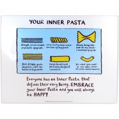 Inner Pasta Worktop Saver - Edward Monkton - Shop by Brand | TemptationGifts.com