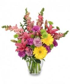 Savannah Style Floral Arrangement in Highland, MI - FLOWER FACTORY