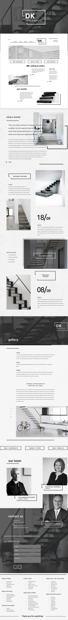 DK // railing & stairs Inc. on