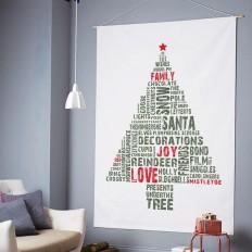 Schnelle Weihnachtsbastelideen – Christbaum selber machen