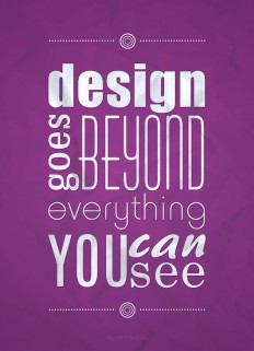 Design goes beyond | Typography on Inspirationde