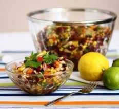 Mexican Bean Salad | I Wanna Nom