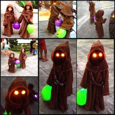 The kids said they wanted to be jawas, we said SUREEEE - Imgur