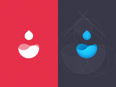 Waterdrop Logo by Seven