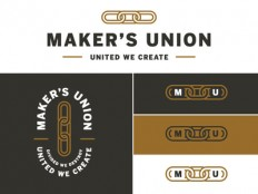 Makers Union Logo Concept by Jennifer Hood