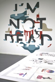 Typography / I\'M NOT DEAD - Staynice