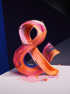 The New Republic Magazine - Ampersand on Behance Creative Director: Erick Fletes — Designspiration