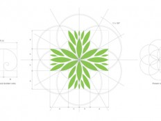 Sacred geometry in logo construction guidelines by Jan Zabransky