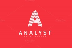 """A"" Character Logo ~ Logo Templates on Creative Market"