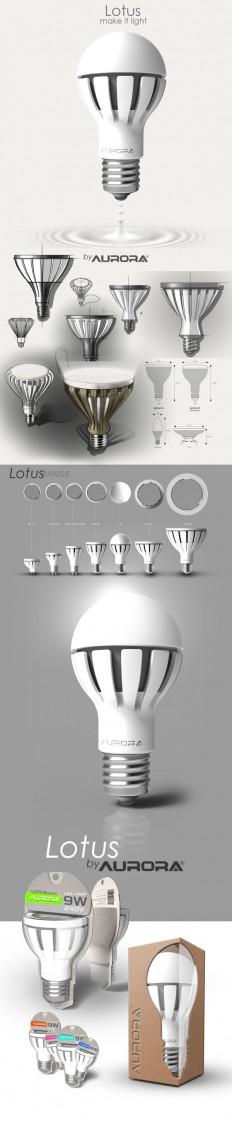 AURORA Light Bulb on