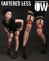 Bloody Gartered Legs Prosthetics   Incredible Things