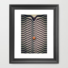 Dot V (melt) Framed Art Print by metron | Society6