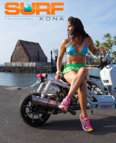 So is the scooter as hot as Ms. Bess?   Surf Kona Team   Pinterest