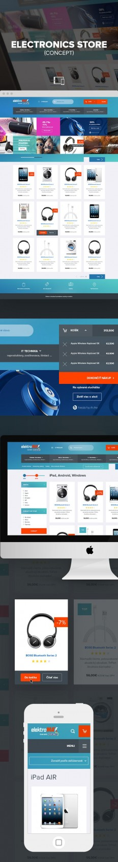 Concept of e commerce electronic store on Inspirationde