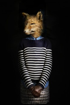 Art / Fashionably Dressed Animals Photographed by Miguel Vallinas