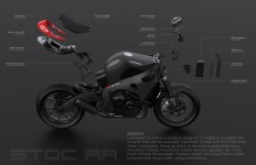 Industrial designer Bill Webb has given his Honda CBR1000rr a makeover. Here's…