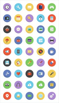 Freebie: Boldons Icon Set (45 Icons, PNG, AI) | Smashing Magazine