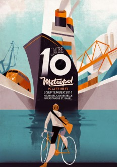 Illustration / Metropol Kurier by Riccardo Guasco on Behance