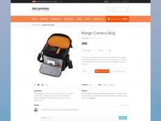 Ecommerce Product Page by Vivek Ravin