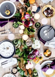 Inspiring Thanksgiving Tabletop Ideas | theglitterguide.com