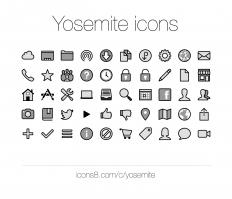 Yosemite icons | Icons8