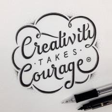 Creativity takes Courage by Anthony Hos on Inspirationde