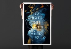 Underwater Posters for La Rose Des Vents Arts Center – Fubiz™