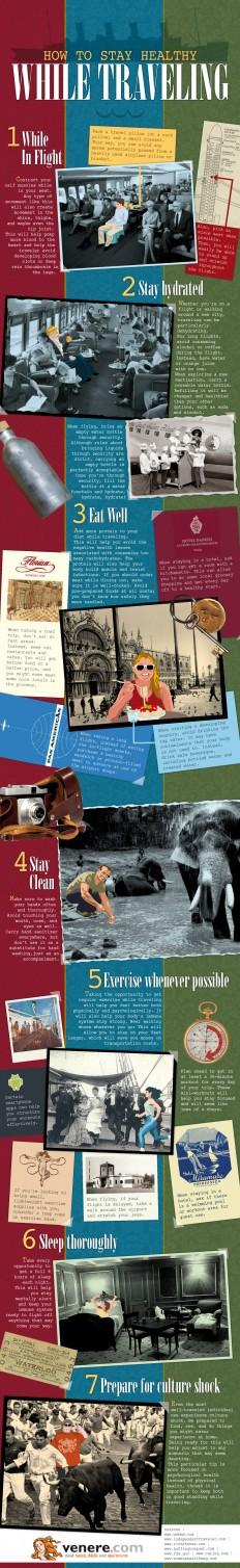 Healthy Traveling Tips | Venere.com