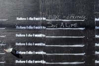 Before I Die Â« Candy Chang