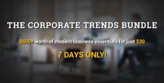Marketing - The Corporate Trends Bundle is here for 1 week only!   ThemeForest
