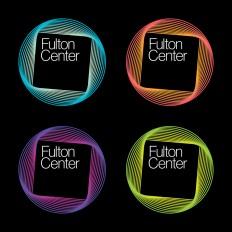 Brand New: New Logo for Fulton Center by Pentagram
